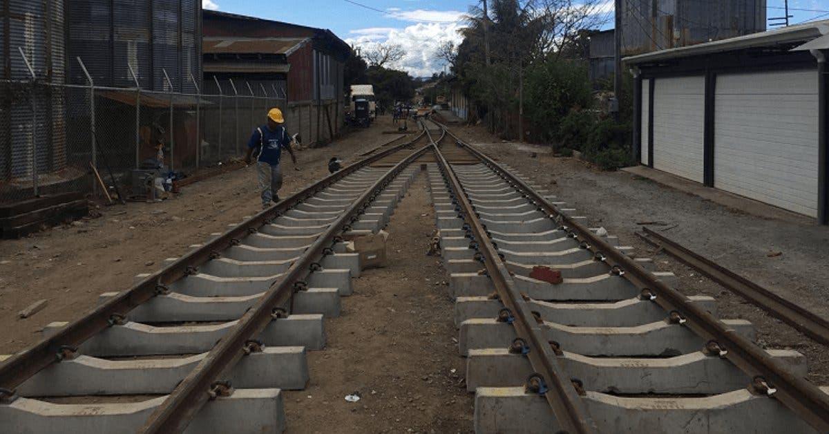Vía férrea a San Rafael de Alajuela está completa
