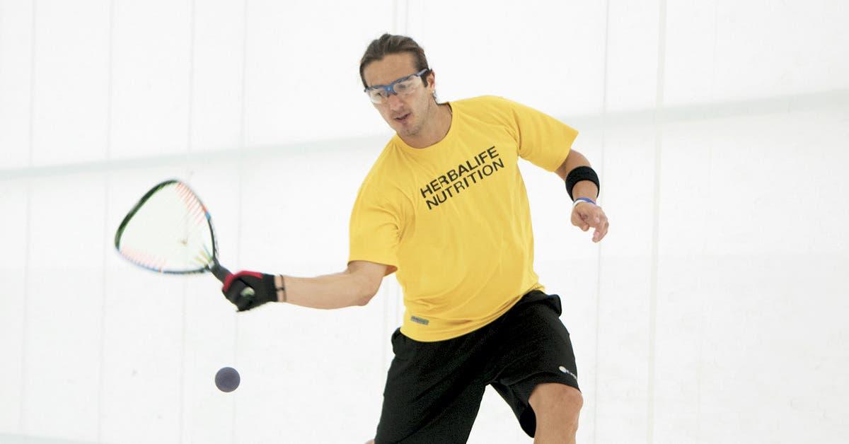 Raquetbolista tico va por el número uno del mundo en ranking mundial