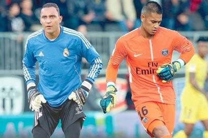 Keylor Navas y portero del PSG alternan debilidades y fortalezas