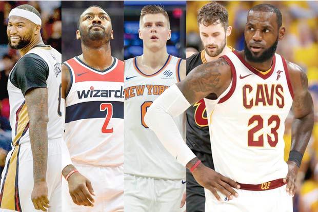 Equipo All Star de LeBron James arrastra una maldición