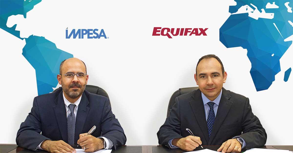 Impesa anuncia alianza con transnacional Equifax