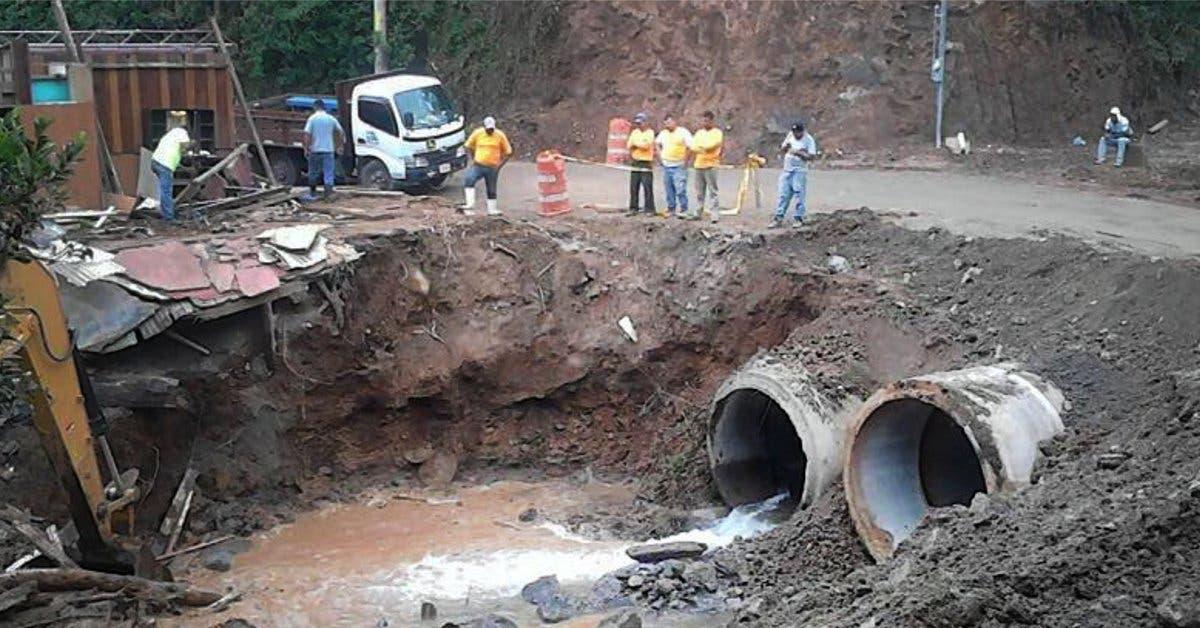 Vía a Monteverde ya tiene invertidos ₡165 millones por afectaciones de Nate
