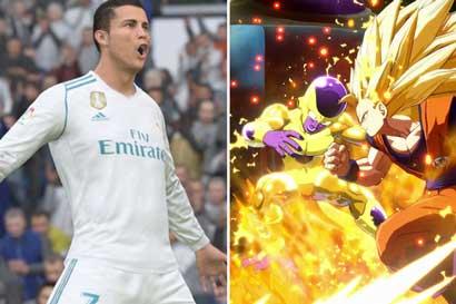Dragon Ball FighterZ y FIFA 18 los juegos más descargados de PS4 en enero