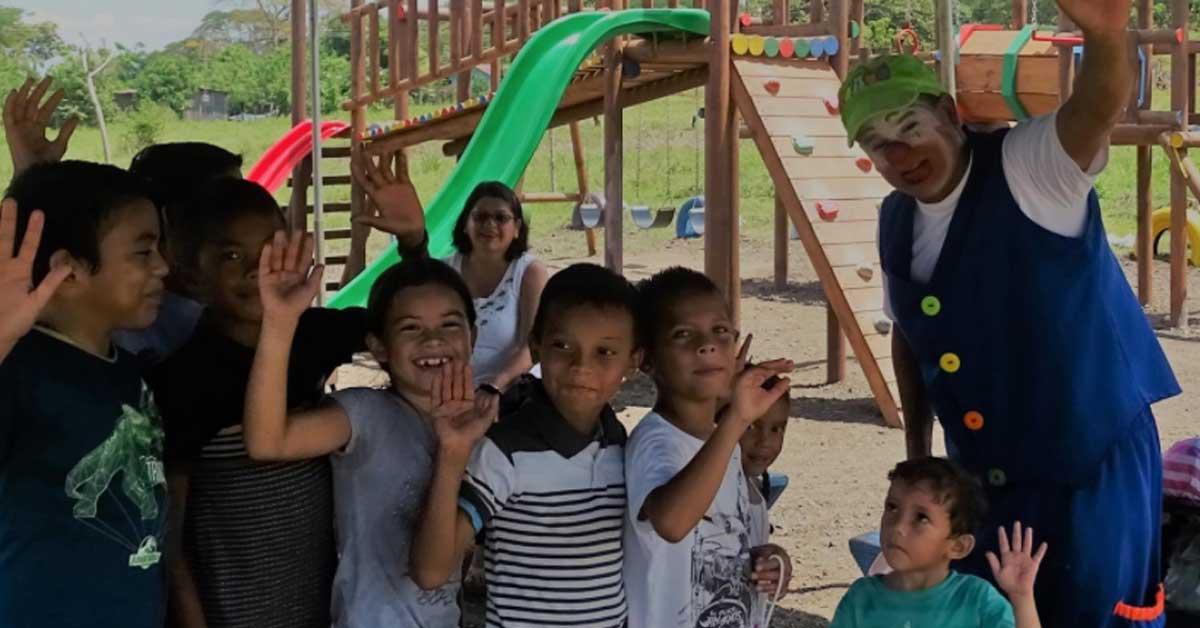 PANI financia la creación de 171 parques infantiles en el país