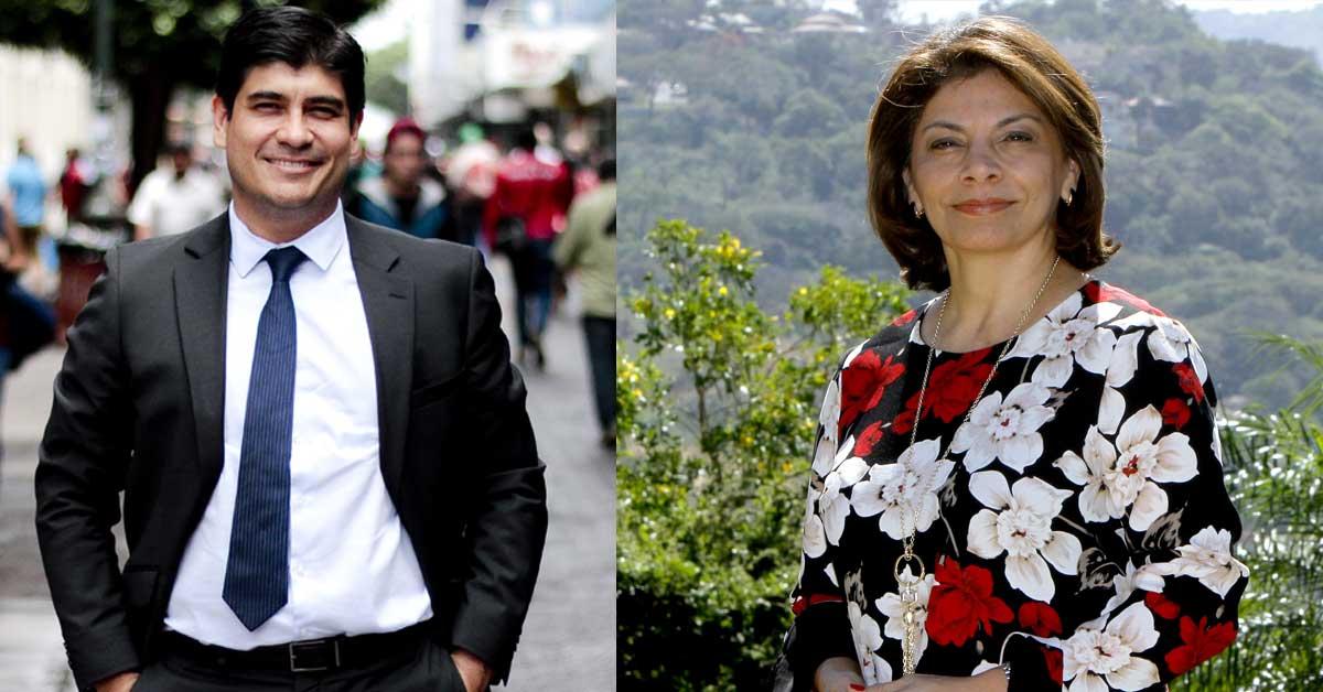Expresidenta se reunió con Carlos Alvarado