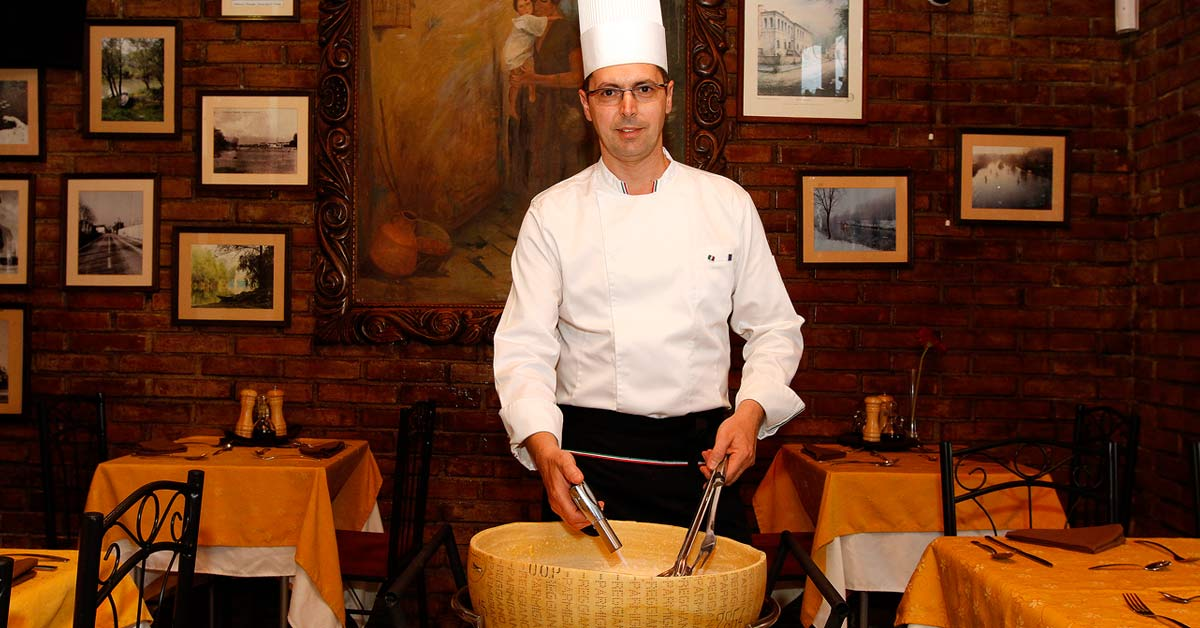 Cocina tradicional italiana con el sello del Piemonte