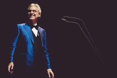 """""""El arte es la voz del alma"""": Andrea Bocelli"""