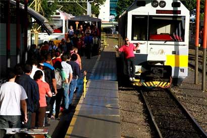 MOPT intervendrá 91 cruces de trenes a partir del lunes