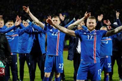 Islandia llevará al 20% de su población al Mundial de Rusia