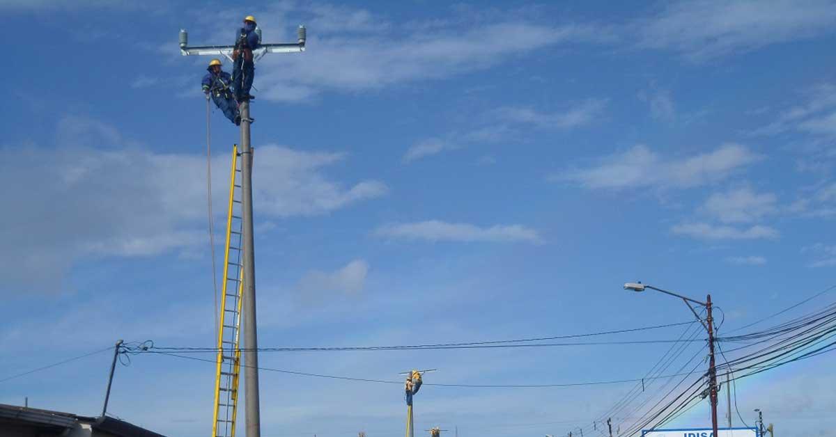 Fuerza y Luz renueva red eléctrica en Heredia y San José