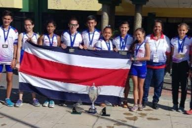 Costa Rica se coronó líder absoluto del campeonato centroamericano de Campo Traviesa