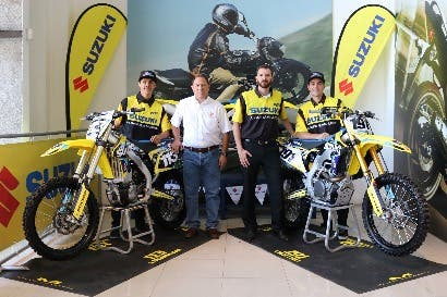 Team CMX de Roberto Castro renovó con Suzuki para la temporada 2018