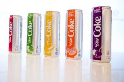 Bebidas saludables y dietéticas impulsan resultados de Coca-Cola