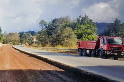 Cuarto tramo de ascenso en vía hacia Pérez Zeledón está próximo a finalizar