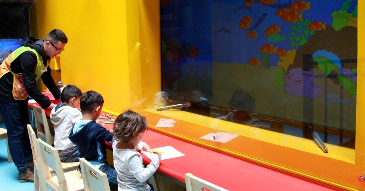 """Museo de los Niños remozó su """"Zona Marina"""""""