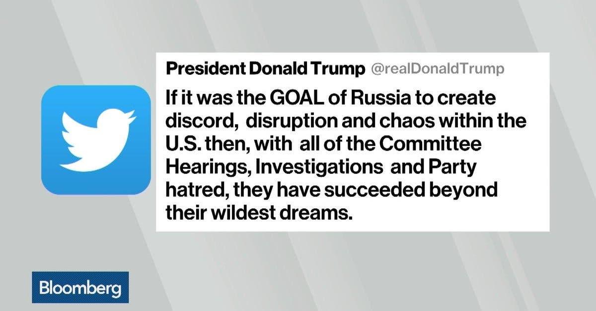 Trump critica a todos menos a Rusia por intromisión electoral