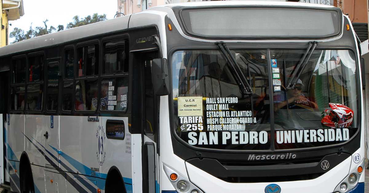 Banco Central publica primer listado de precios de insumos para el transporte público