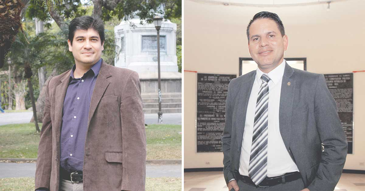 Carlos apuesta por visión social, Fabricio por resolver maraña legal