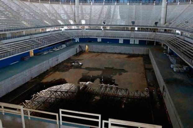 Sedes de los Juegos Olímpicos de Río de Janeiro en decadencia