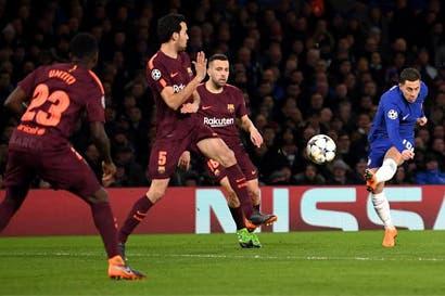 Barcelona sacó un punto valioso en duelo ante el Chelsea
