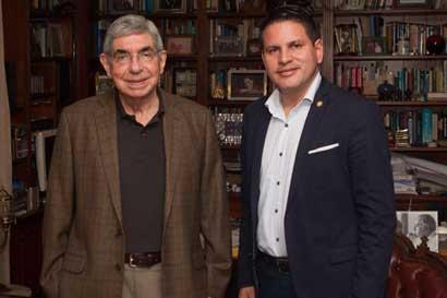 Fabricio Alvarado dice no necesitar apoyo de Óscar Arias