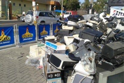 Tiendas Gollo recolectó 150 toneladas de residuos eléctricos en un año