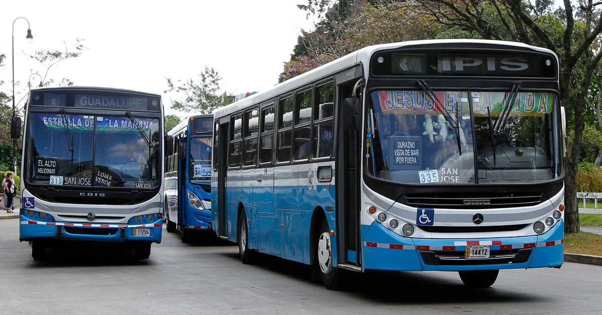 Sala Constitucional ordena hacer pública lista de accionistas de empresas de autobús