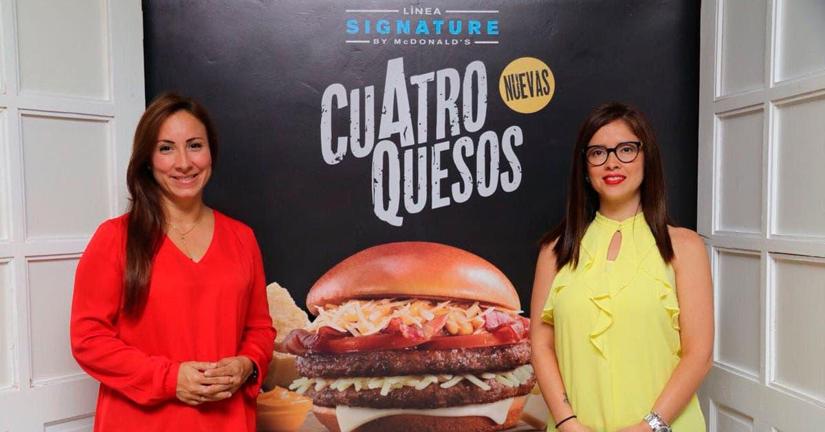 McDonald's lanzó hamburguesa gourmet