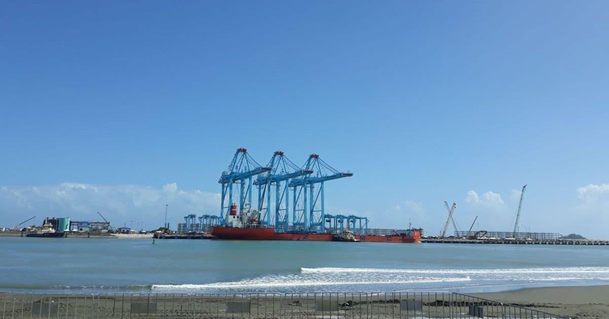 Exportadores festejan llegada de grúas pórticas de APM