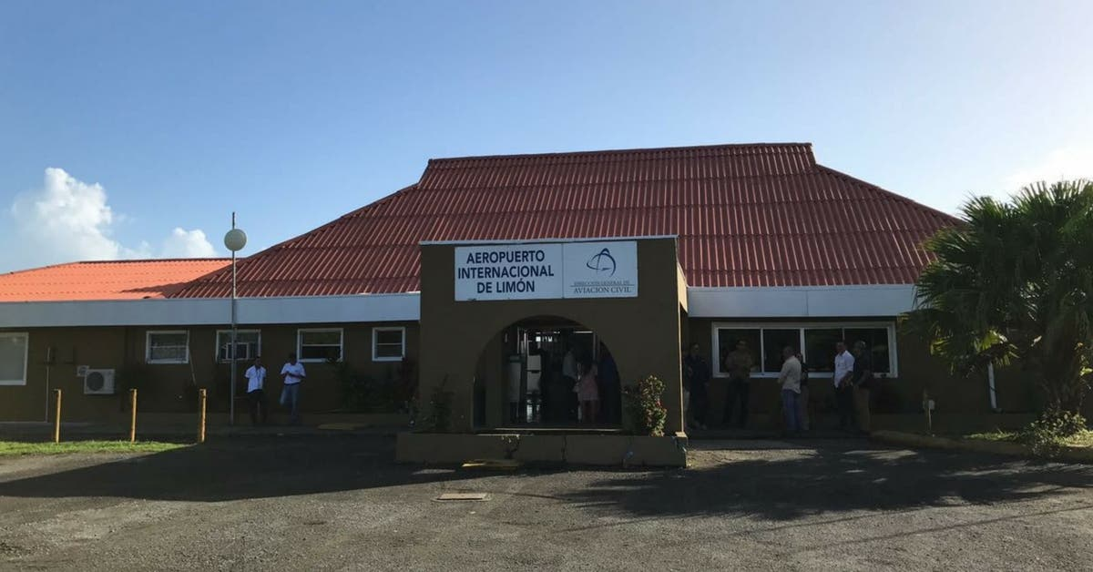 Aeropuerto Internacional de Limón contará con nueva terminal
