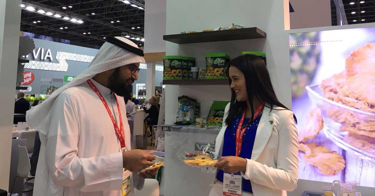 Costa Rica promociona su oferta de alimentos en Dubái