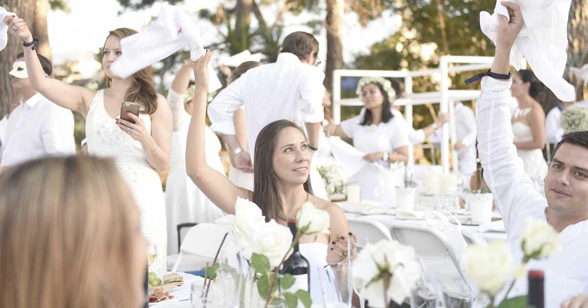Dîner en Blanc regresa con su edición de verano