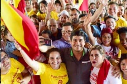 Encuesta a teléfonos fijos de Idespo pone como ganador a Carlos Alvarado