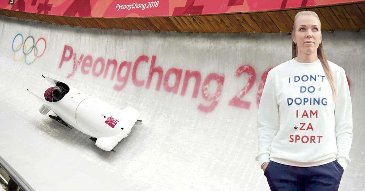 """Atleta portó camisa """"no me dopo"""" y dio positivo en Juegos Olímpicos"""