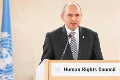 """Vicecanciller: """"El Consejo de Derechos Humanos debe ser ágil y valiente"""""""