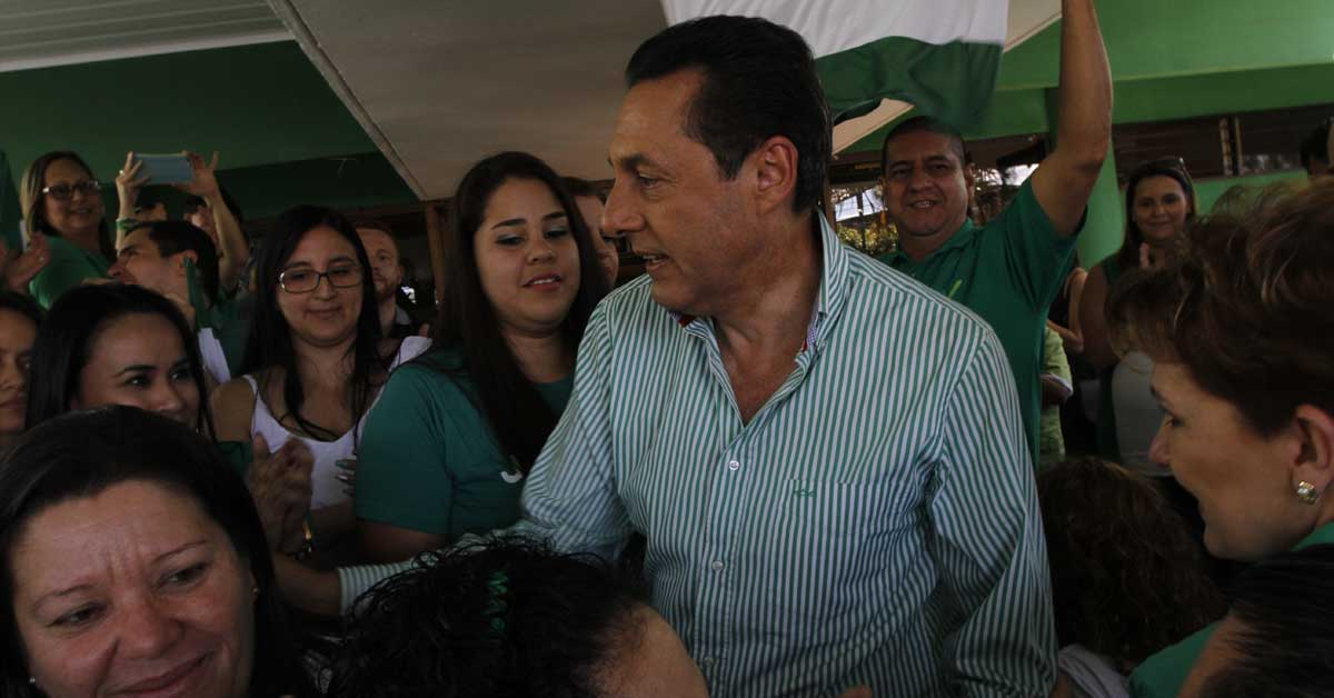 """Liberación Nacional indignado ante """"burla"""" del Presidente"""