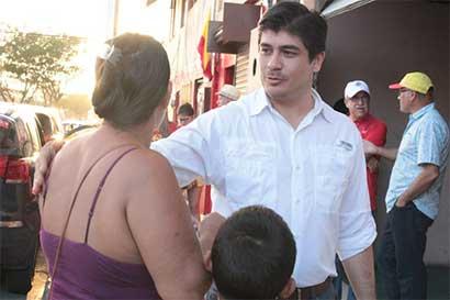 Carlos Alvarado sostiene reuniones con turismo y otros sectores en Guanacaste
