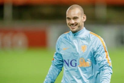 Wesley Sneijder se retira de la selección holandesa