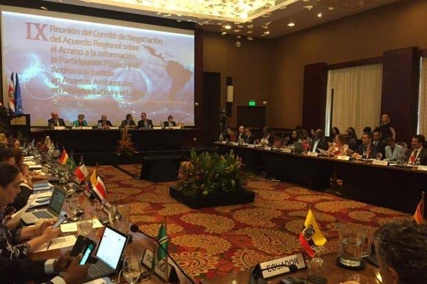 Costa Rica firma acuerdo regional sobre acceso información ambiental