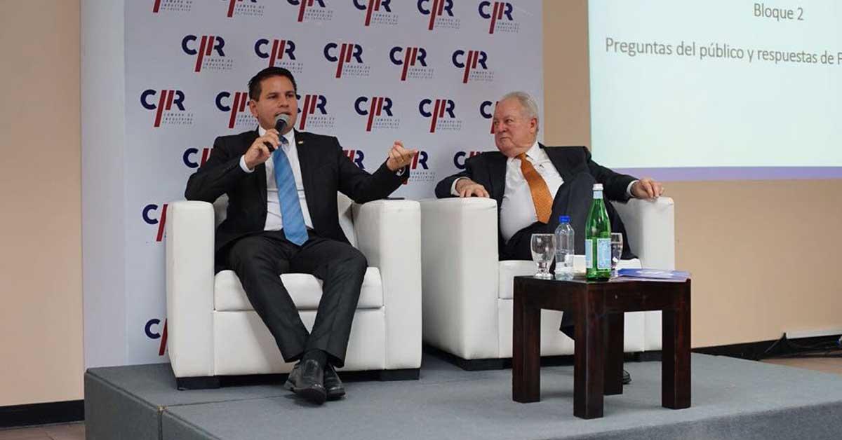 Fabricio Alvarado propone a industriales fortalecer el INA