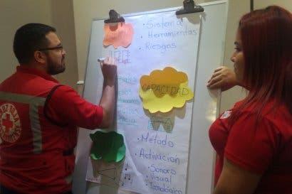 Cruz Roja busca prevenir sobre fenómenos naturales a través de Sistemas de Alerta Temprana