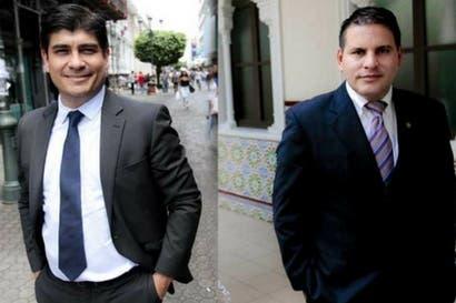 Carlos Alvarado y Fabricio Alvarado debatirán hoy