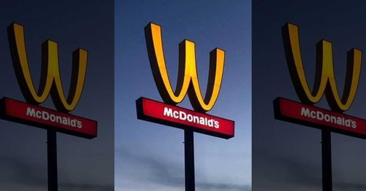 McDonald's voltea su logo para celebrar Día Internacional de la Mujer