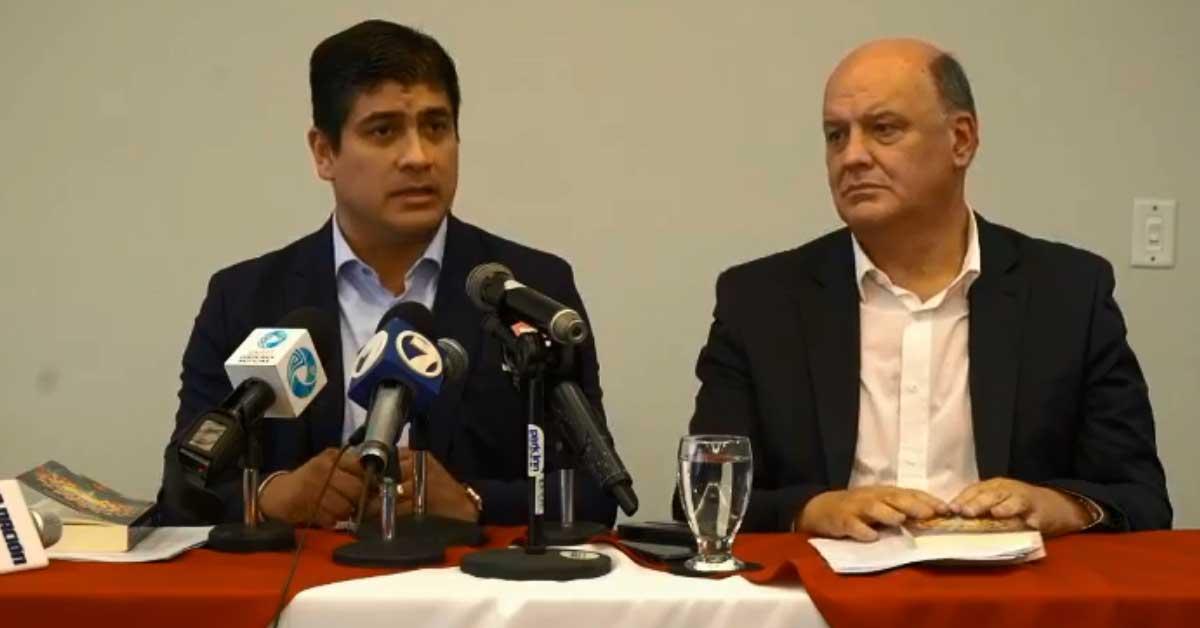 Rodolfo Piza confirma adhesión a Carlos Alvarado