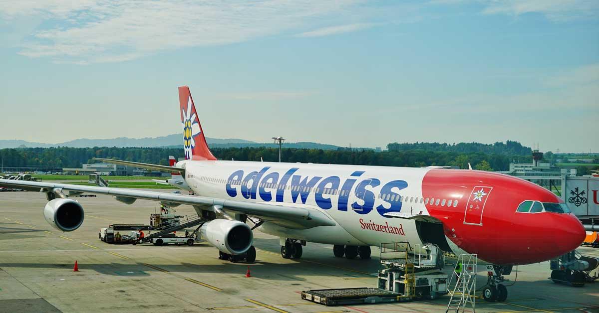 Edelweiss aumenta a tres vuelos semanales desde Suiza hacia San José