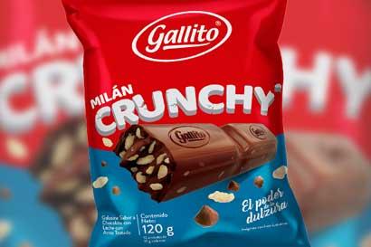 Gallito lanza una versión más de chocolate Milán