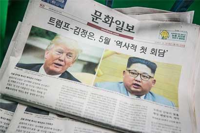 Trump acepta reunirse con líder de Corea del Norte