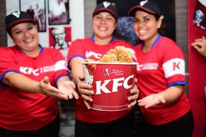 KFC busca personal por apertura