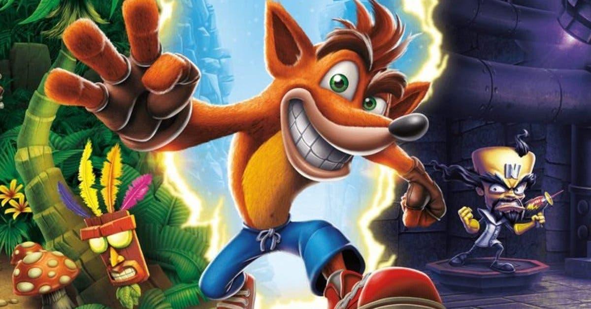 Crash Bandicoot: N. Sane Trilogy vuelve disponible para Nintendo, PC y Xbox One