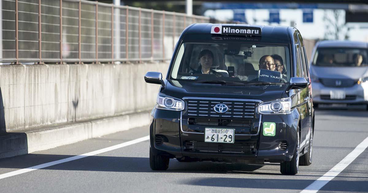 Toyota quiere ofrecer servicios al estilo Uber para taxis con IA
